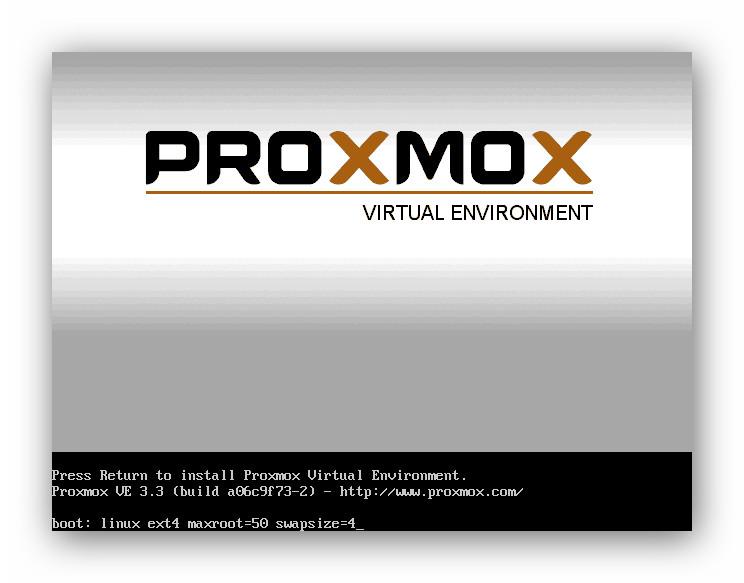 instalar Proxmox