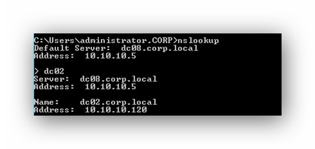 Cambiar IP controlador de dominio