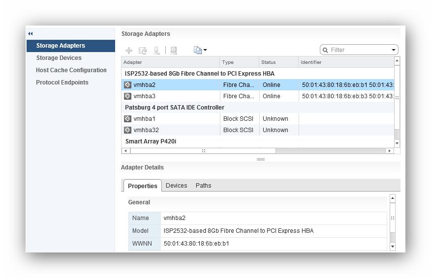 Actualizar drivers HBA en ESXi - Blog de Sistemas