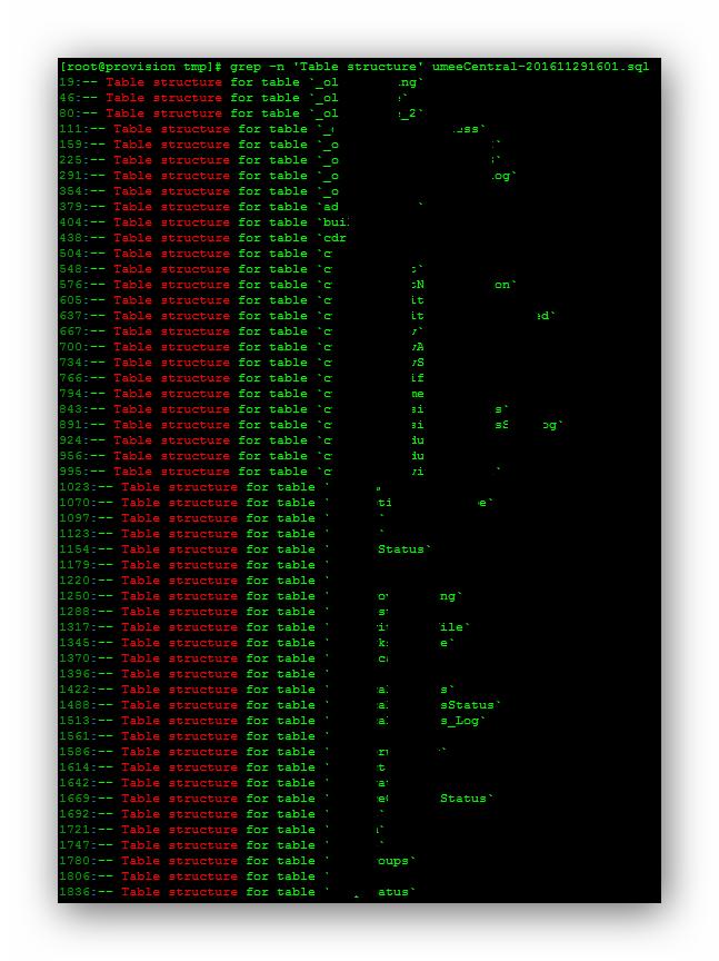 Restaurar tablas en MySQL