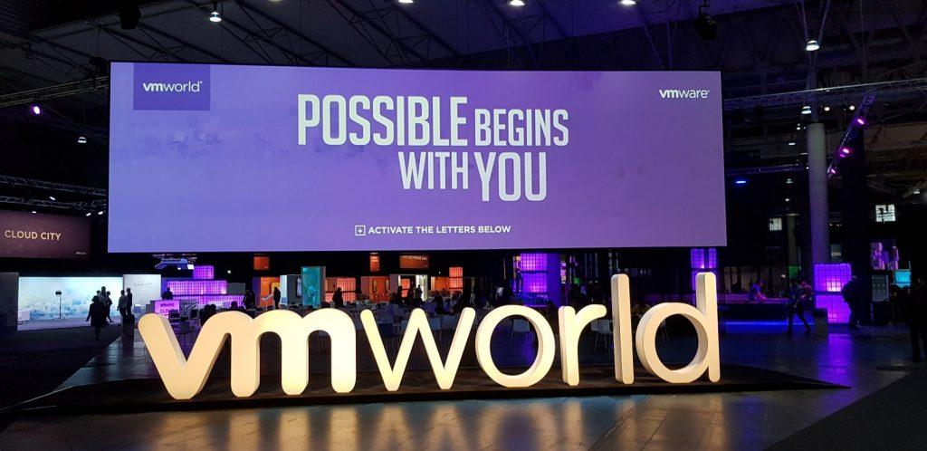 VMworld 2018 dia 1