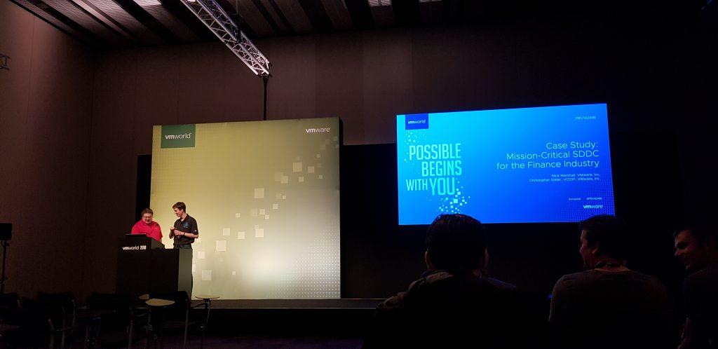 Resumen del VMworld 2018 día 3