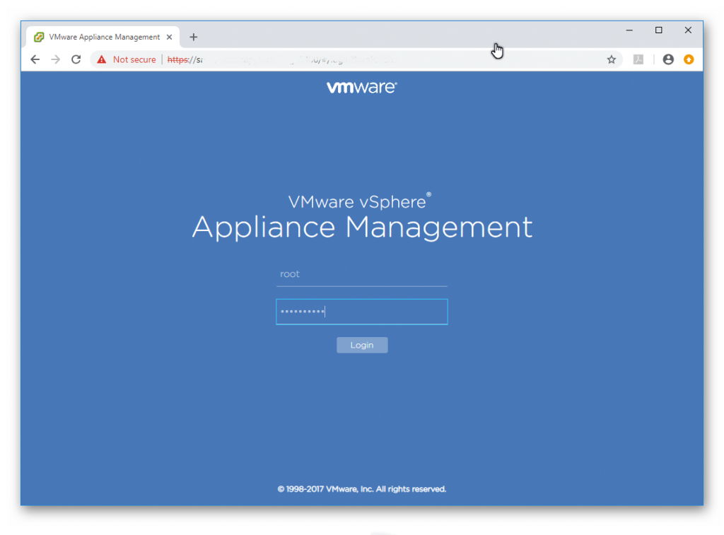 Actualizar VCSA 6.5