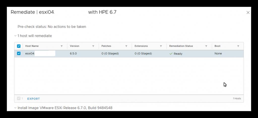 Actualizar vSphere 6.5 a 6.7