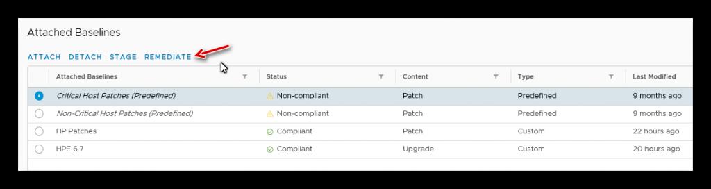 Actualizar a vSphere 6.7 U1