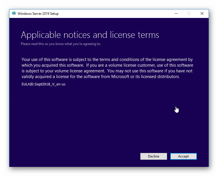 Actualizar Windows Server 2016 a 2019