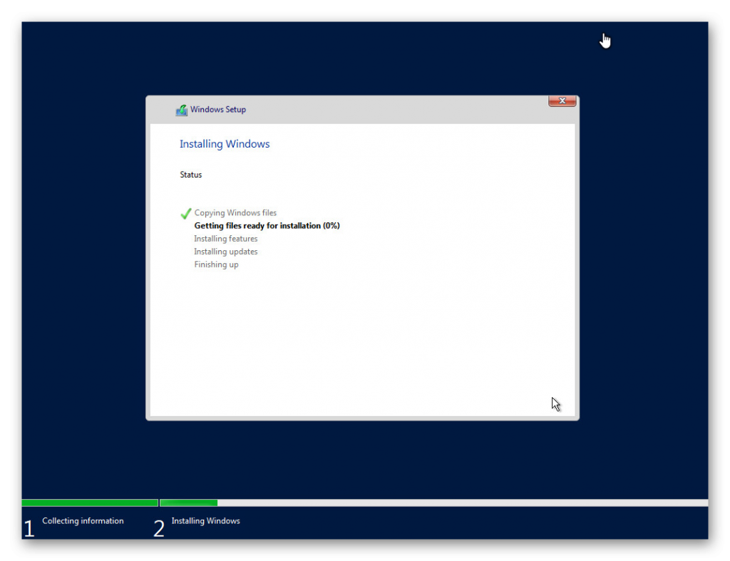 Instalar Windows Server 2019